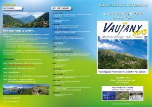 Programme Vaujany-Recto